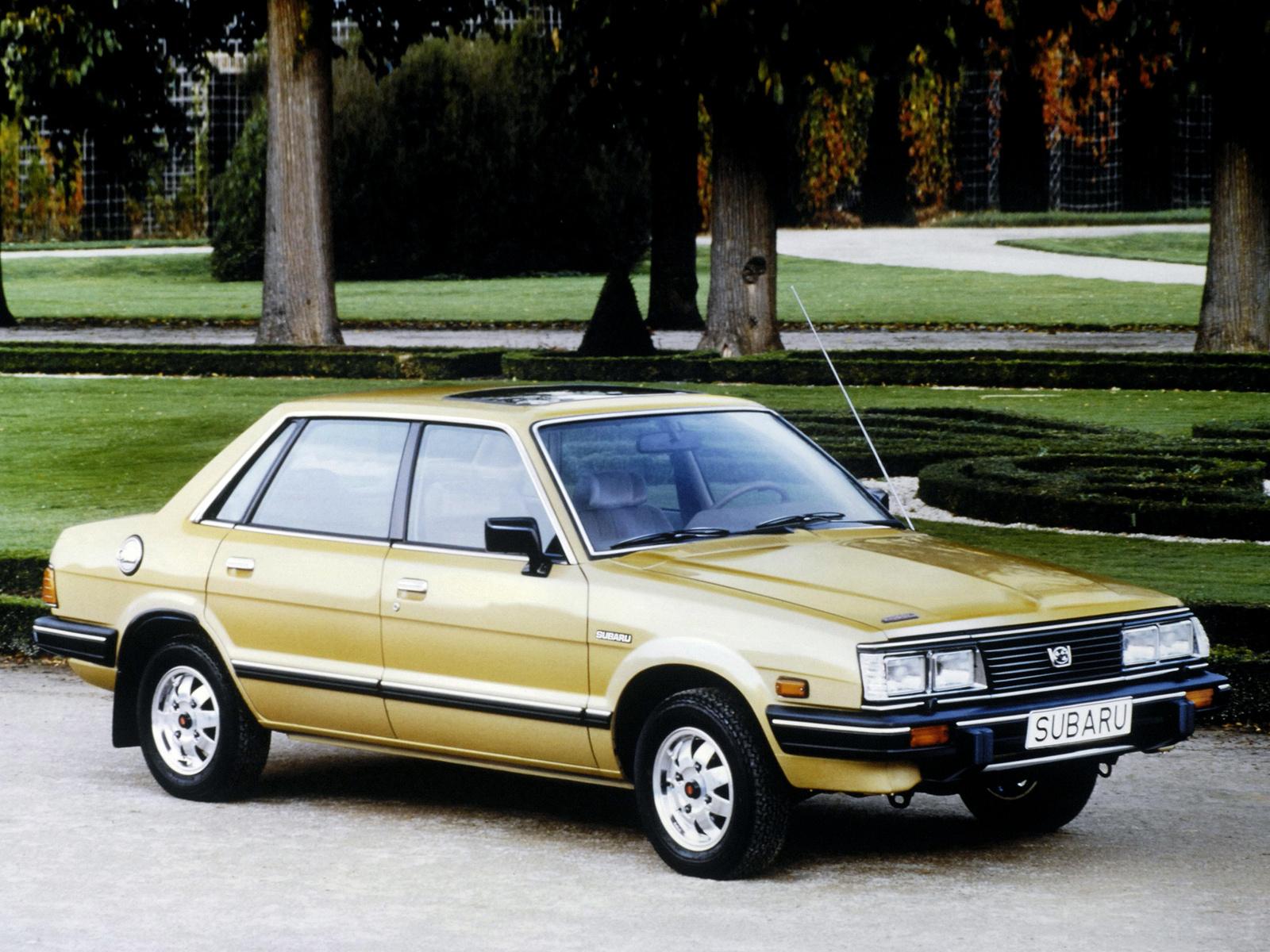 Subaru Leone I Ab 1800 4wd 80 Hp